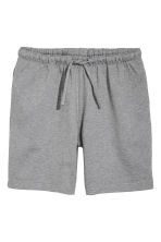 Short jersey shorts - Grey marl - Men | H&M CN 2