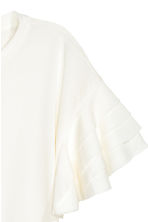 Pima cotton top - White - Ladies | H&M 3
