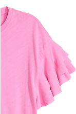 Pima cotton top - Pink - Ladies | H&M 3