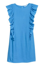 Frilled dress - Light blue - Ladies | H&M 2