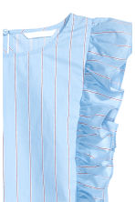 Frilled dress - Light blue/Striped - Ladies | H&M 3