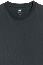 Round-neck T-shirt Relaxed fit - Dark grey - Men | H&M 3