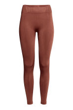 Sports tights - Rust brown - Ladies | H&M IE 2