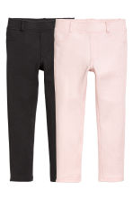 2-pack treggings - Black -  | H&M 1