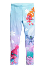 Jersey leggings - Purple/Trolls -  | H&M 2