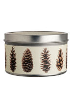 Scented candle in metal tin - White/Fresh Ginger - Home All | H&M IE 1