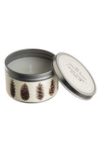 Scented candle in metal tin - White/Fresh Ginger - Home All | H&M IE 2