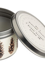Scented candle in metal tin - White/Fresh Ginger - Home All | H&M IE 3