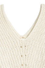 Oversized jumper - Natural white - Ladies | H&M 3
