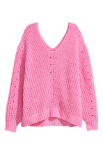 Oversized trui - Roze - DAMES | H&M BE 2