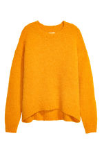Wool-blend jumper - Yellow - Ladies | H&M 2