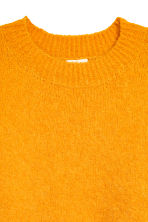 Wool-blend jumper - Yellow - Ladies | H&M 3