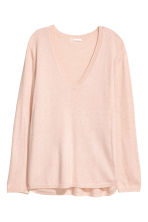 Knitted jumper - Powder pink - Ladies | H&M 2