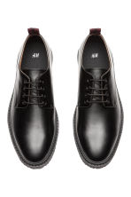 Chunky-soled Derby shoes - Black - Men | H&M CN 2