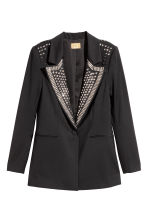 Jacket with studs - Black - Ladies | H&M CN 2
