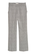 Ankle-length trousers - Grey/Dogtooth - Ladies | H&M 2