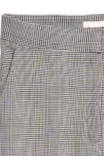 Ankle-length trousers - Grey/Dogtooth - Ladies | H&M IE 3