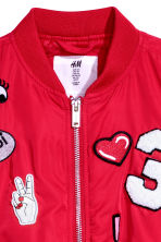 Padded Bomber Jacket - Red - Kids | H&M CA 3