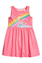 Jersey dress - Pink/Frozen - Kids | H&M 1