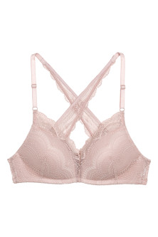 Bygellös bralette med push up