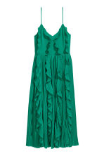 Pleated dress - Green -  | H&M 2