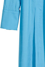 Dress with a stand-up collar - Light blue - Ladies | H&M 3