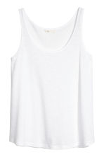 Vest top - White - Ladies | H&M 2