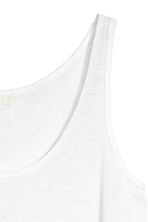 Vest top - White - Ladies | H&M 3