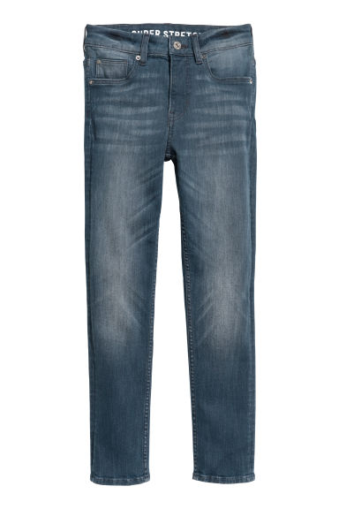 Superstretch Skinny fit Jeans - Gråblå denim -  | H&M SE
