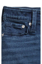 Skinny fit Satin Jeans - Dark denim blue - Kids | H&M 4