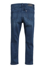 Skinny fit Satin Jeans - Dark denim blue - Kids | H&M 3