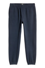 Joggers in piqué - Blu scuro - UOMO | H&M IT 2