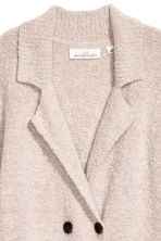 Bouclé cardigan - Light beige marl - Ladies | H&M CN 2