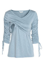 MAMA Nursing top - Light blue - Ladies | H&M 3