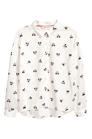 Kids+ Hemd - Wit/Mickey Mouse -  | H&M BE 1