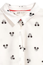 Kids+ Hemd - Wit/Mickey Mouse -  | H&M BE 2