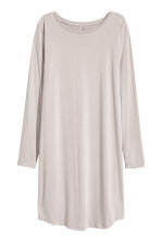 Jersey dress - Light grey - Ladies | H&M IE 2