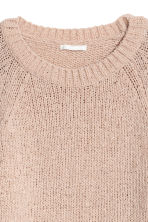 Glittery jumper - Powder pink/Glittery - Ladies | H&M GB 3