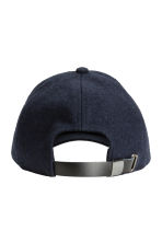 Wool-blend cap - Dark blue - Men | H&M 2