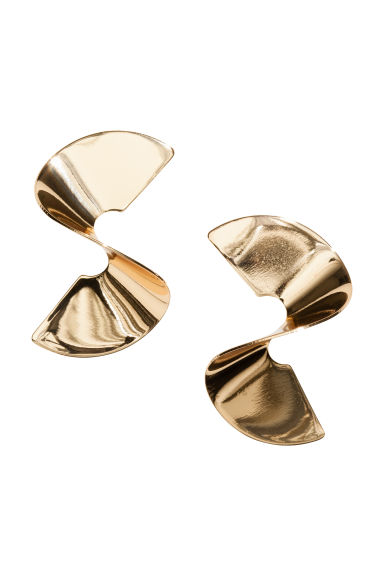 Earrings - Gold-coloured -  | H&M CN