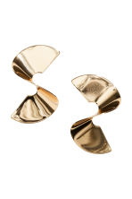 Earrings - Gold-coloured - Ladies | H&M 1