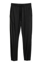 Jersey joggers - Black -  | H&M 2