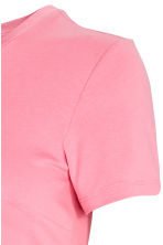 MAMA Jersey tie top - Light pink - Ladies | H&M IE 2