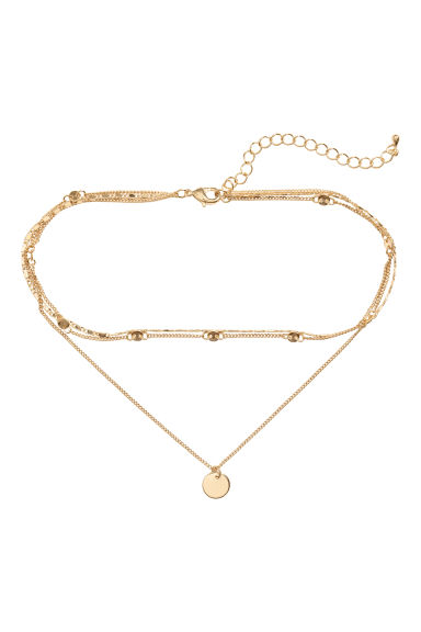 Collana a tre fili - Dorato - DONNA | H&M IT 1
