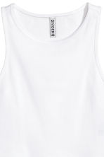 Short vest top - White - Ladies | H&M 2