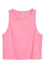 Short vest top - Pink - Ladies | H&M CN 2