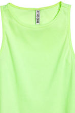 Short vest top - Yellow - Ladies | H&M CA 3