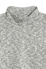 Turtleneck jumper - Grey marl - Ladies | H&M CN 2