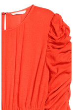 Dress with smocking - Neon orange - Ladies | H&M GB 3