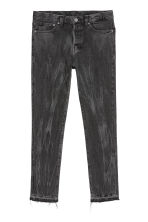 Relaxed Skinny Jeans - Black/Washed out - Men | H&M GB 3